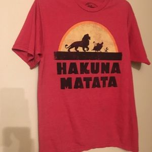"🦁👑 Disney The Lion King ""Hakuna  Matata "" TShirt"